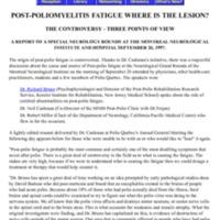 Post-Polio Fatigue Where Is The Lesion.pdf