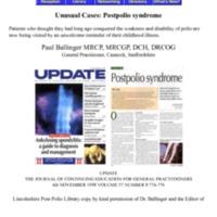 Unusual Cases Post-Polio.pdf